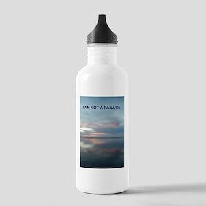 I Am Not A Failure Water Bottle