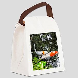 koi fish Canvas Lunch Bag