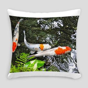 koi fish Everyday Pillow