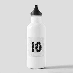 TEN BLACK Stainless Water Bottle 1.0L