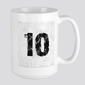 TEN BLACK Mugs