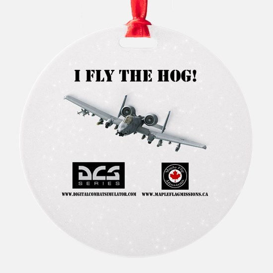 Funny Warthogs Ornament