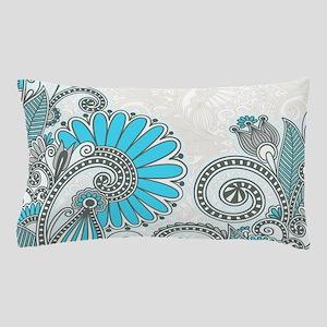 Elegant Floral Pillow Case