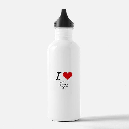I love Tugs Water Bottle