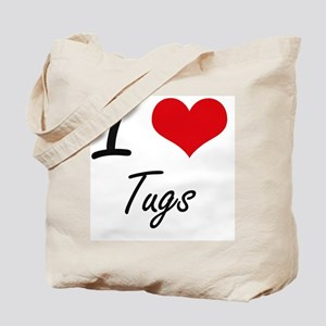 I love Tugs Tote Bag