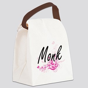 Monk Artistic Job Design with Flo Canvas Lunch Bag