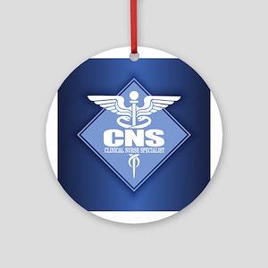 CNS (diamond) Round Ornament