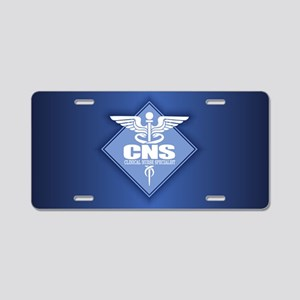 CNS (diamond) Aluminum License Plate