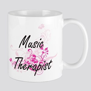 Music Therapist Artistic Job Design with Flow Mugs