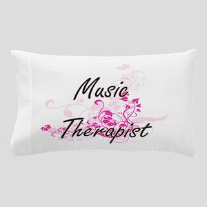Music Therapist Artistic Job Design wi Pillow Case