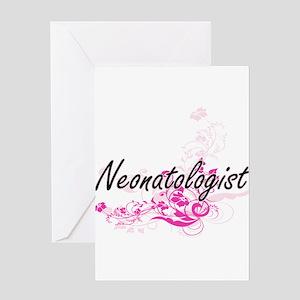 Neonatologist Artistic Job Design w Greeting Cards