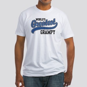 World's Greatest Grampy Fitted T-Shirt