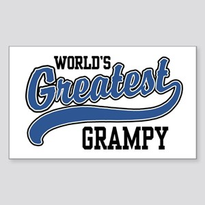World's Greatest Grampy Sticker (Rectangle)