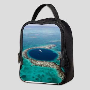 GREAT BLUE HOLE 1 Neoprene Lunch Bag