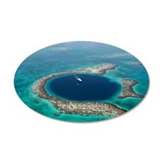 GREAT BLUE HOLE 1 Wall Decal