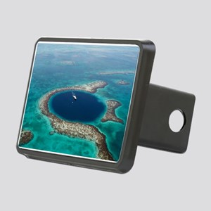 GREAT BLUE HOLE 1 Rectangular Hitch Cover
