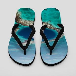 GREAT BLUE HOLE 1 Flip Flops