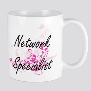 Network Specialist Artistic Job Design with F Mugs