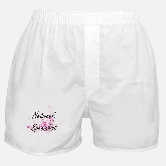 Network Specialist Artistic Job Desig Boxer Shorts