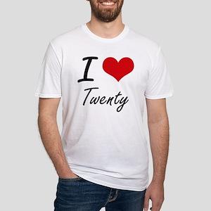 I love Twenty T-Shirt