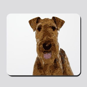 Airedale Painted Mousepad