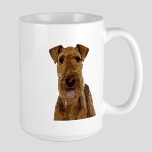 Airedale Painted Mugs