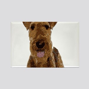Airedale Painted Magnets