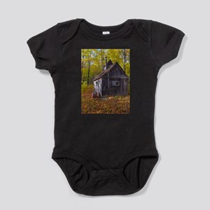 Old Quebec Maple Syrup Cabin Baby Bodysuit