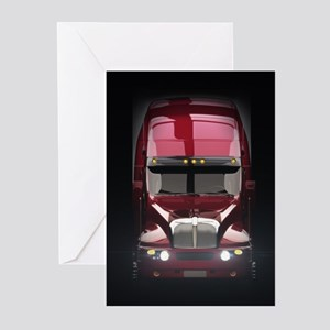 Heavy Truck Greeting Cards (Pk of 20)