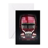 Heavy truck Greeting Cards (20 Pack)
