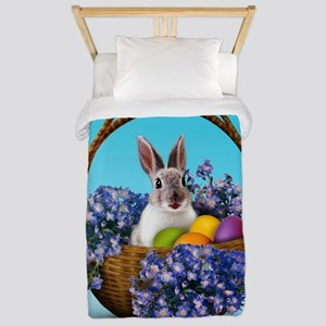 Easter Bunny Basket Twin Duvet