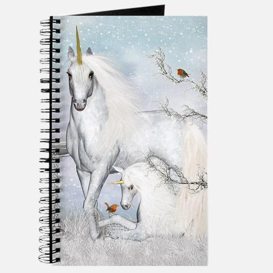 Winter Robins & Unicorns Journal