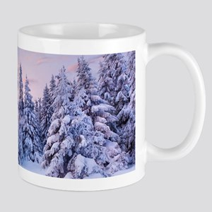 Winter Pine Forest Mug
