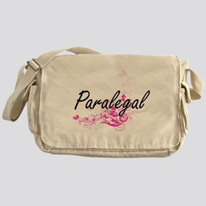 Paralegal Artistic Job Design with F Messenger Bag