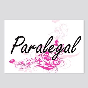 Paralegal Artistic Job De Postcards (Package of 8)