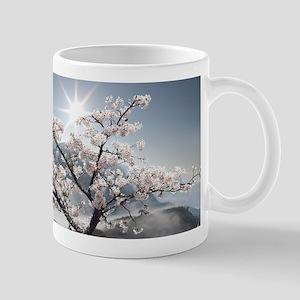 Japanese Cherry Landscape Mug