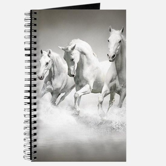 Wild White Horses Journal