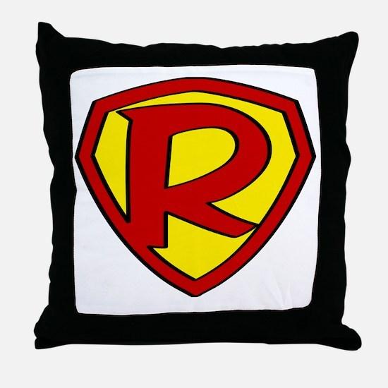 Cute Super hero Throw Pillow