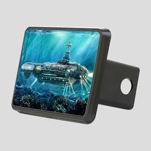 Steampunk Submarine Rectangular Hitch Cover
