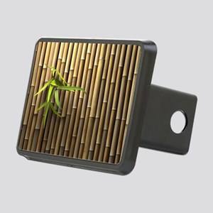 Bamboo Wall Rectangular Hitch Cover