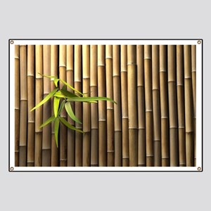 Bamboo Wall Banner