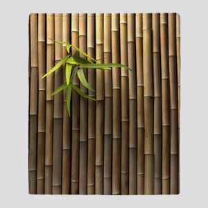 Bamboo Wall Throw Blanket
