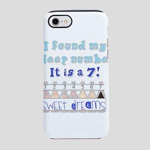 sleep # 7 beer iPhone 8/7 Tough Case