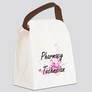 Pharmacy Technician Artistic Job Canvas Lunch Bag