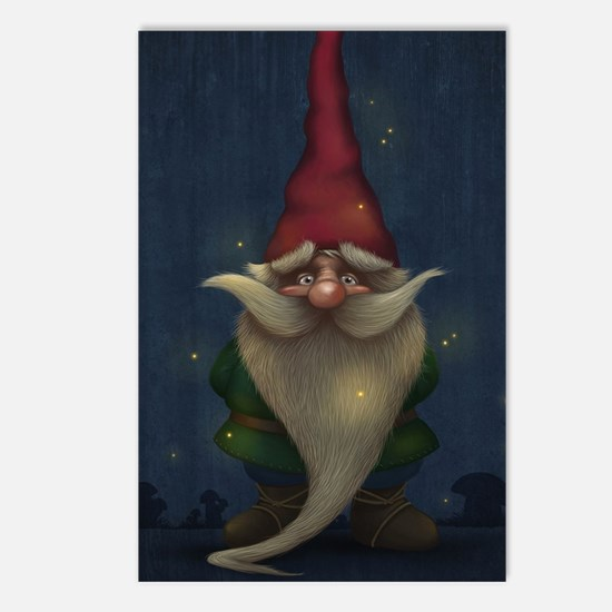 Old Christmas Gnome Postcards (Package of 8)