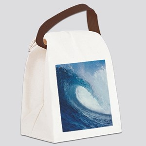 OCEAN WAVE 2 Canvas Lunch Bag