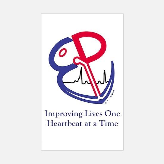 EP Electrophysiology WPW to Sinus Rhythm Decal