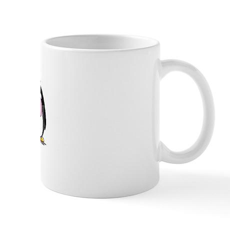 Hear, See, Speak No Evil Peng Mug
