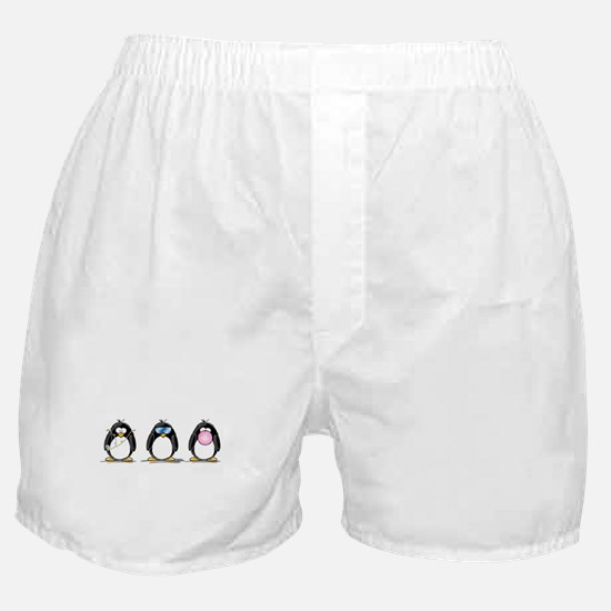 Hear, See, Speak No Evil Peng Boxer Shorts