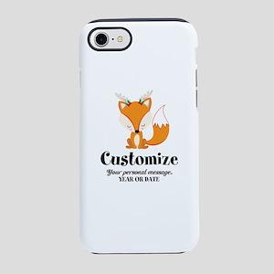 Custom Christmas Fox iPhone 8/7 Tough Case